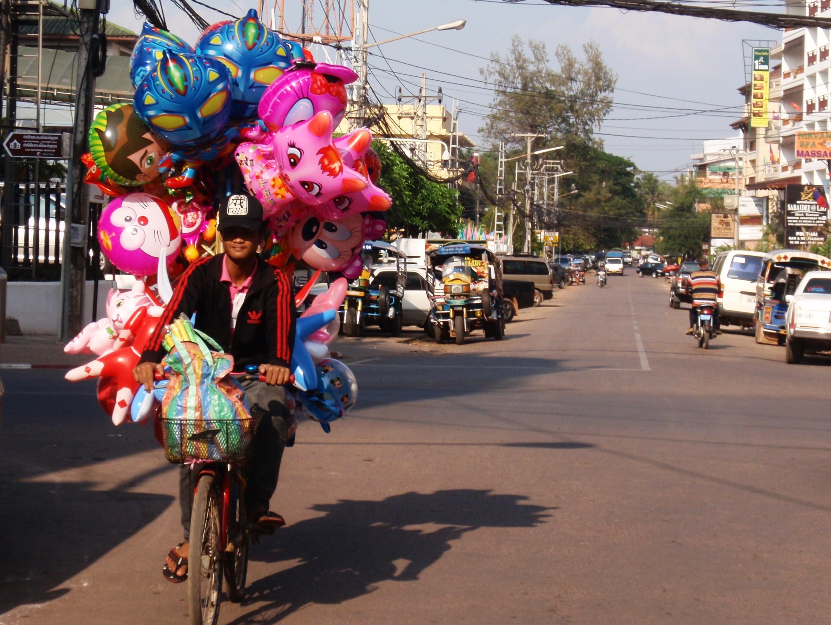 Balloon Vendors Mark On The Map